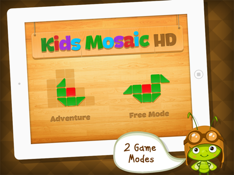 Mosaic Tiles: Art Puzzle Game for Schools by A+ Kids Apps