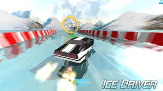 Screenshot from Ice Driver