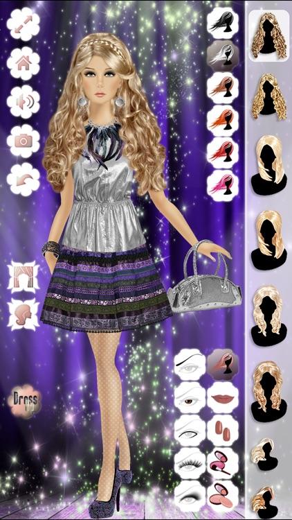 Makeup, Hairstyle & Dress Up Fashion Princess Free 2 screenshot-3