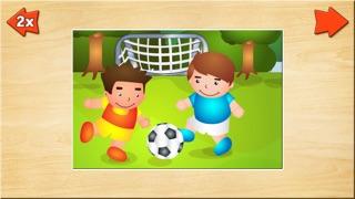 Spiele für Kleinkinder - Holz Puzzle für Jungen (6 Teile) 2+Screenshot von 5
