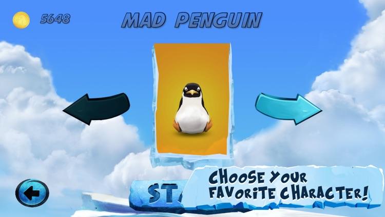 Mad Penguin Run - Free Fun Animal Jumping Game screenshot-3