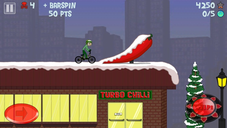 Stickman Snowboarder screenshot-4