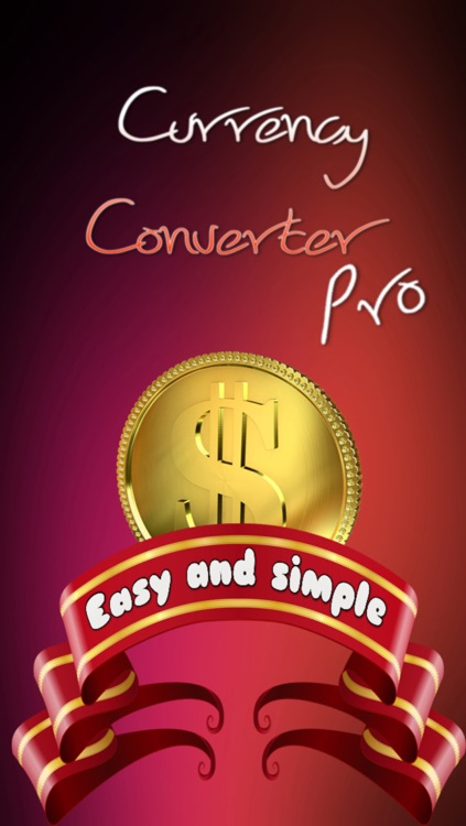 Currency Converter Pro - The most user-friendly currency converter