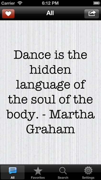 Dancer QuickQuotes