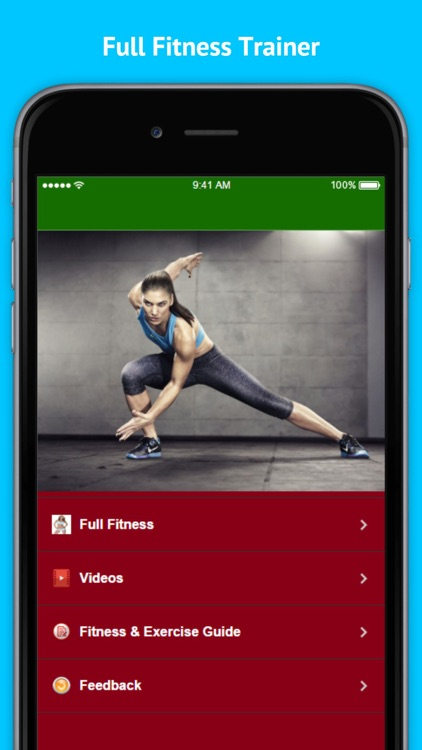 Full Fitness - Hundreds of Unique Exercises screenshot-1