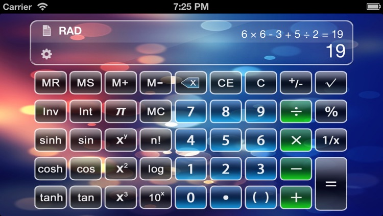 Calculator X Free - Advanced Scientific Calculator with Formula Display & Notable Tape