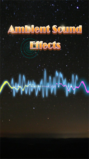 Relaxing Sleep Sounds & Ambient Effects with White Noise on the App
