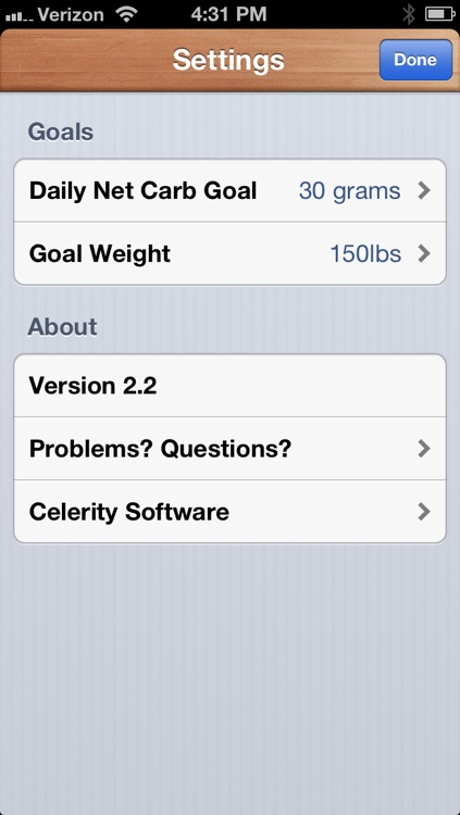 Carb Counter - Track your Carbs in Style screenshot-4