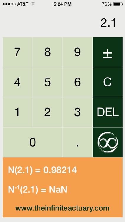Normal Distribution Calculator