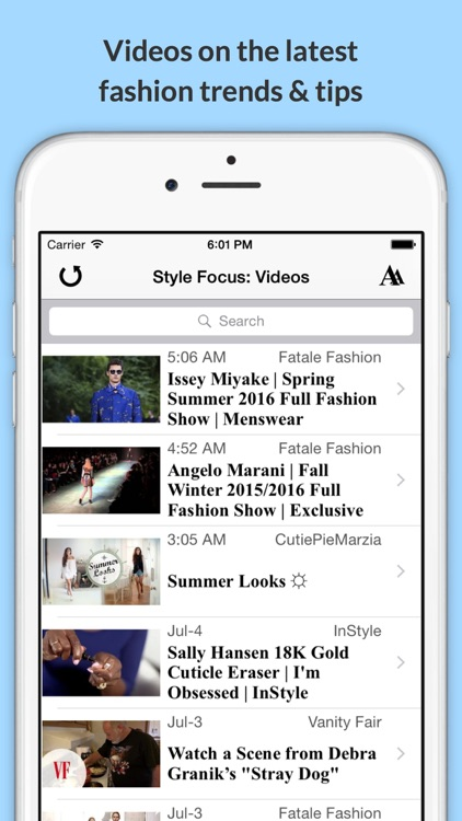 Style Focus: the Latest Fashion Trends, Videos & Photos! screenshot-3