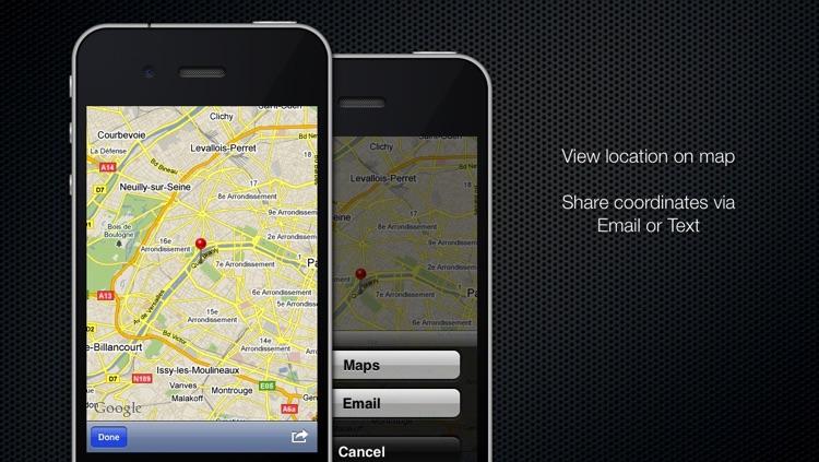 Coordinates Converter Free screenshot-3