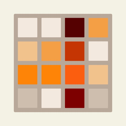 ColorMania - A new twist on 2048 (guess the color and merge them to get the darkest tile) iOS App