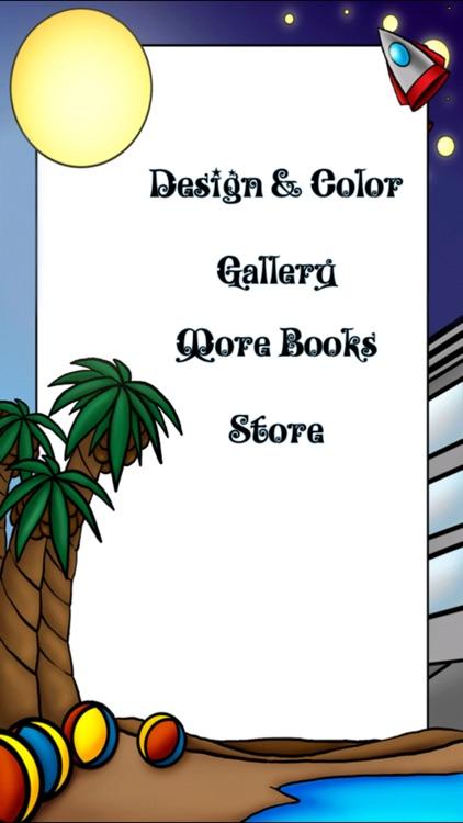 Paper Doll Coloring Book! screenshot-3