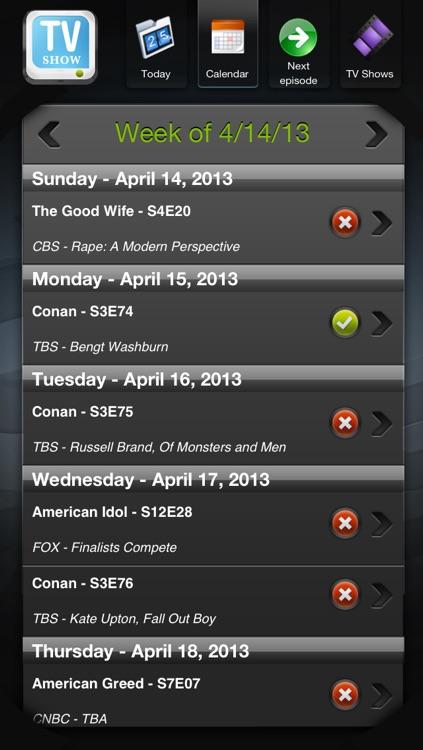 TV Shows screenshot-3