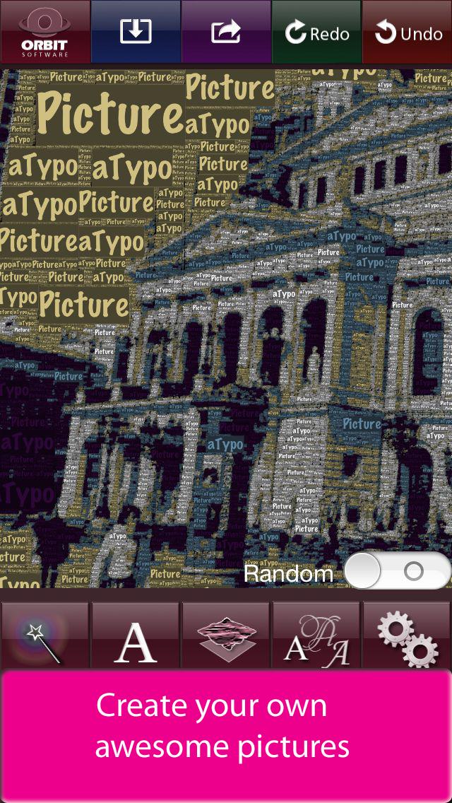 aTypo Picture - Amazing Typographic Picture (a wordfoto)