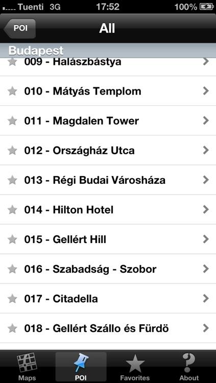 Budapest touristic audio guide (english audio) screenshot-4