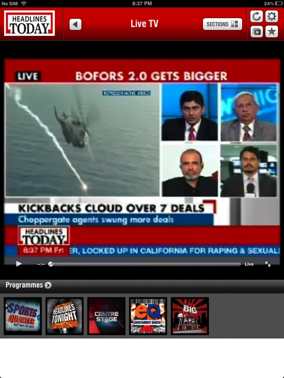 Headlines Today HD screenshot-1