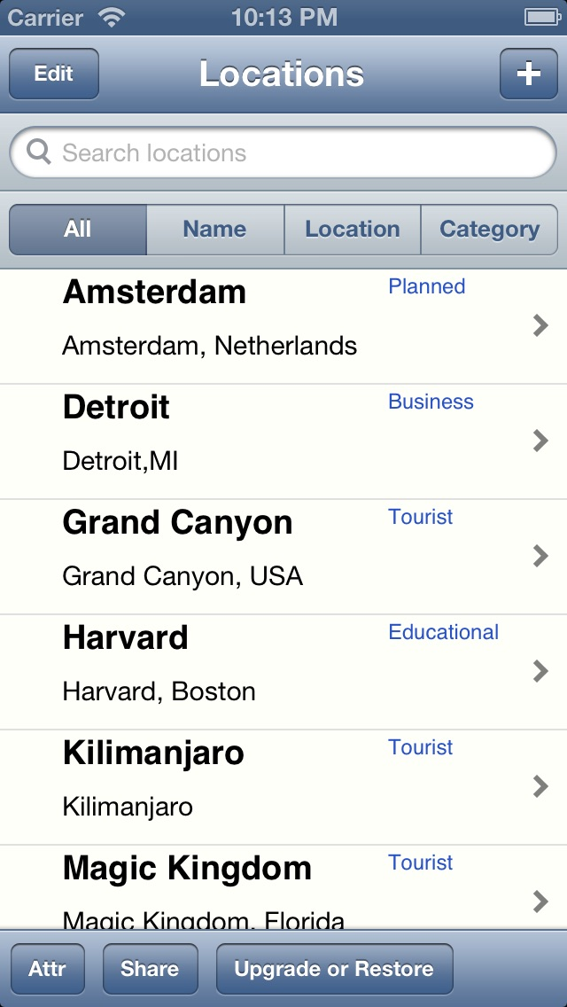 download Locations List for Google Maps apps 0