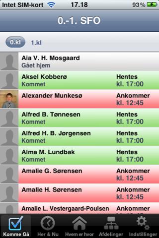 Tabulex Personale screenshot 1