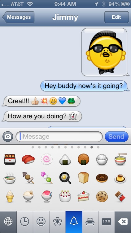Emoji Characters and Smileys Free! screenshot-4