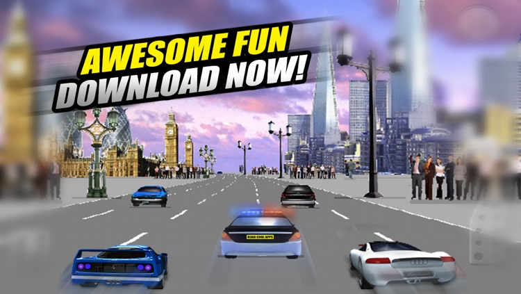 A Cop Chase Car Race 3D FREE - By Dead Cool Apps screenshot-4