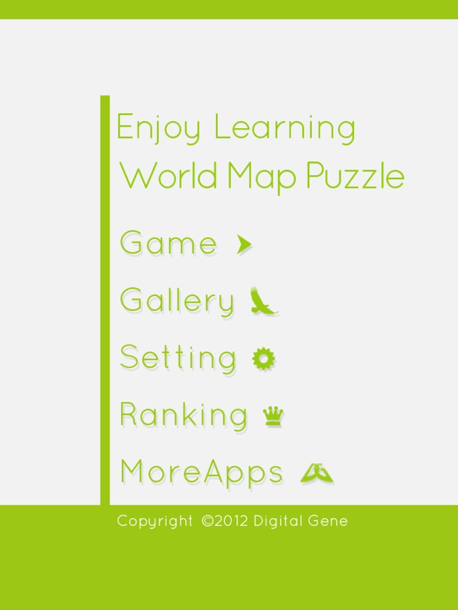 Enjoy learning world map puzzle on the app store gumiabroncs Image collections