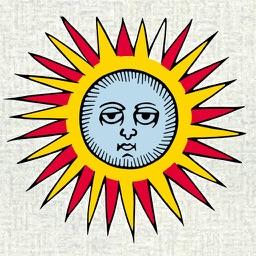 Ancient tarot restored by J.-C. Flornoy
