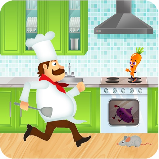 Cooking Crazy Running Dash - Top Mouse Fighting Food Smash World Free