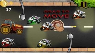 Awesome Tractor Race - Free Turbo Farm Speed Racing Screenshot on iOS