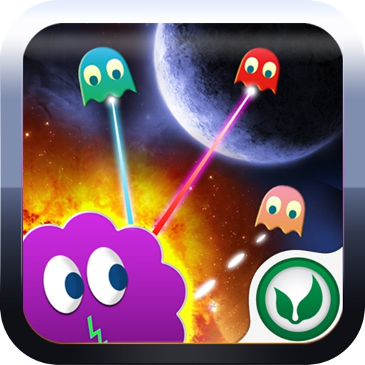 Alien Combat - Cartoon Space Galaxy Invaders