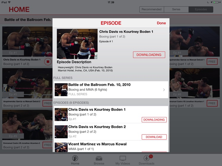 FightMaster: Boxing & MMA Videos for iPad screenshot-3