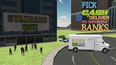 Bank cash van simulator - Transport dollars in money truck simulation game screenshot four