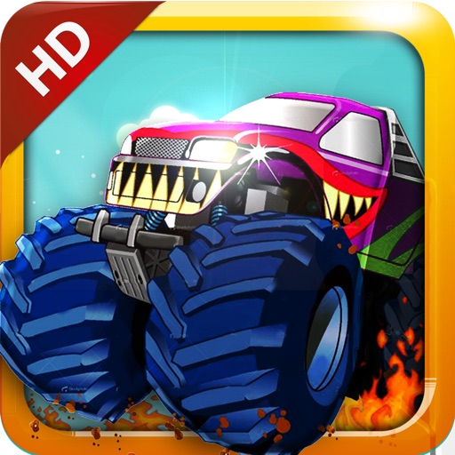 Mad Monster Truckers HD icon