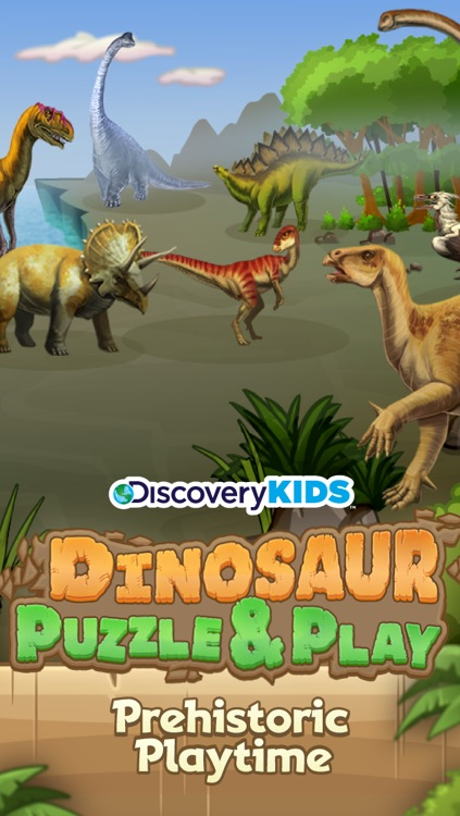 Discovery Kids Dinosaur Puzzle & Play screenshot-0