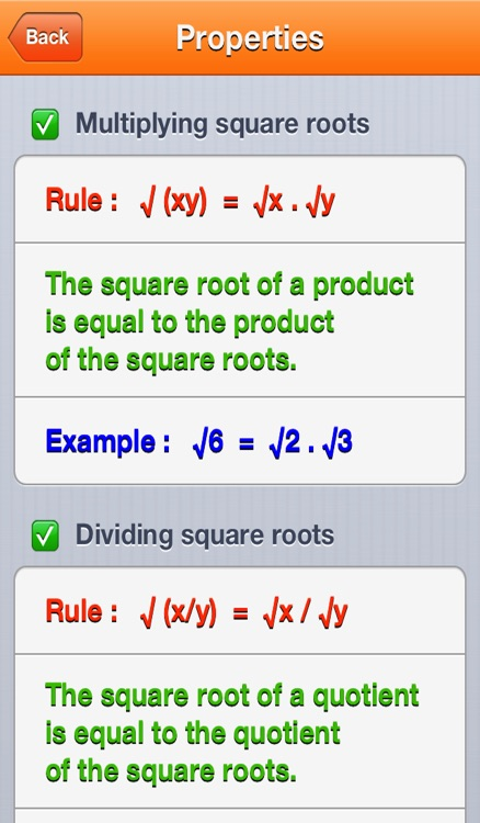 Square Roots screenshot-2