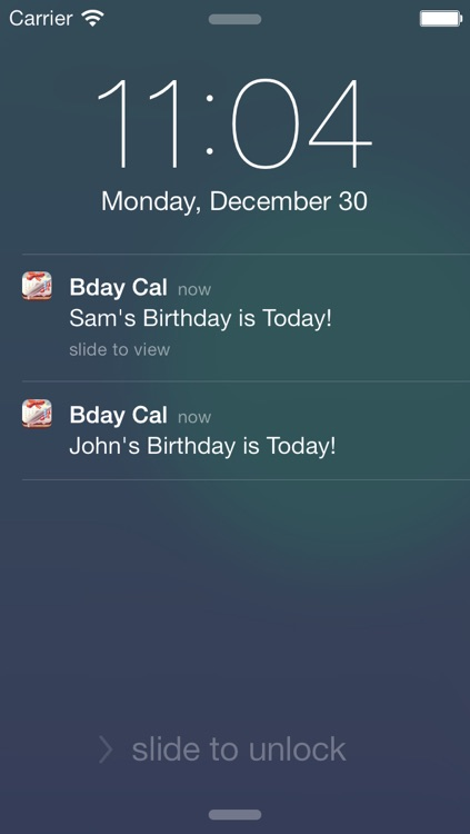 Birthday Reminder & Calendar+
