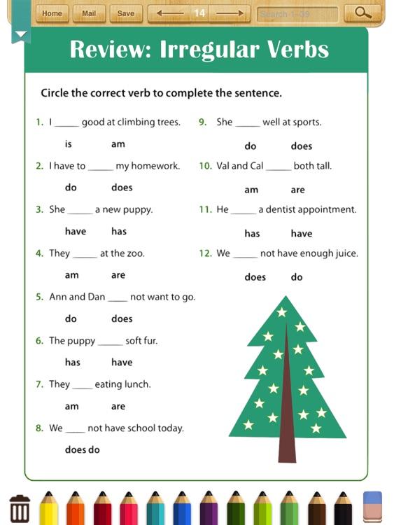 English Grammar Worksheets(Grade 2)
