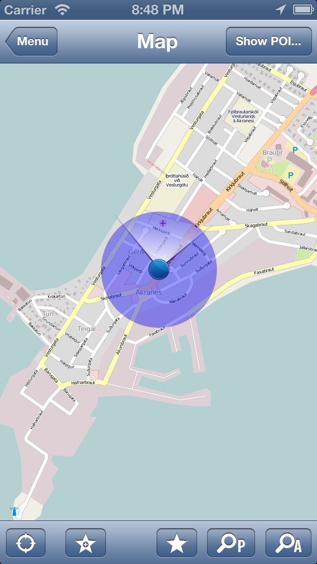 Iceland Offline Map - PLACE STARS | App Price Drops on online interactive maps, advertising maps, print maps, service maps, facebook maps,