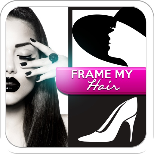 Frame My Hair , Instant Fashion Collage Maker