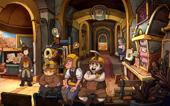 ‎Deponia Screenshot