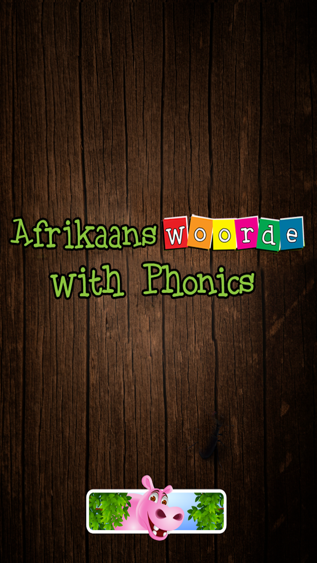 First Afrikaans words with Phonics: Educational game for