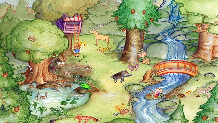 My Zoo Animals: Toddler's Seek & Find Book screenshot-3