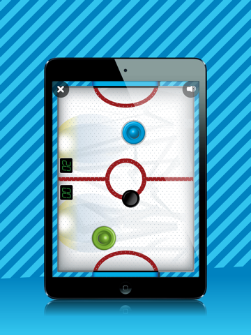 TF Air Hockey HD free screenshot
