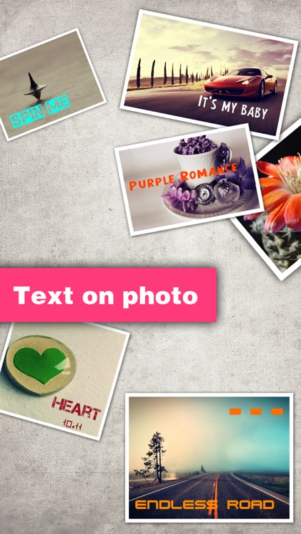 Texts on Photo HD Pro – text over picture & caption designs editor