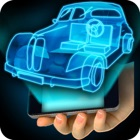 Hologram Car 4D Simulator icon
