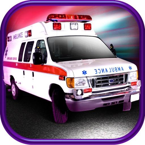 3D Ambulance Driving Race Car Game FREE