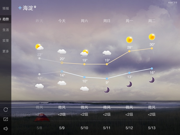 天气通HD screenshot-1