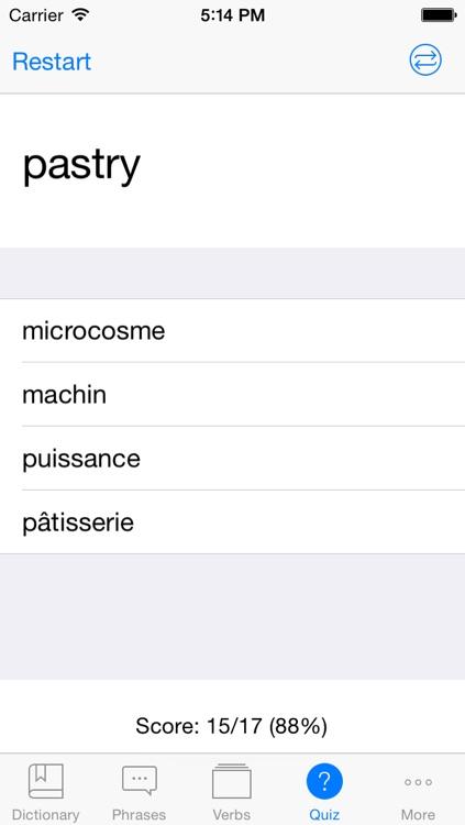 French English Dictionary + screenshot-4