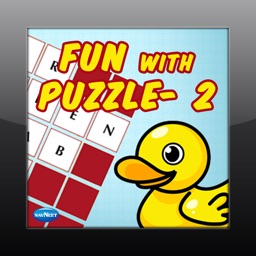 Fun With Puzzles-2 - games and puzzles to learn about plants and flowers