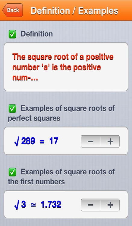 Square Roots screenshot-0